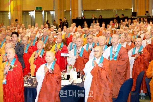 이 행사에는 조계종 총무원장 설정 스님과 교육원장 현응 스님, 12개국 비구니스님 등 500여 명이 참석했다.