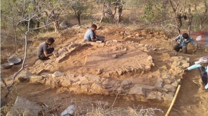 인도고고학조사단(ASI)의 발굴현장. 사진출처=타임즈오브인디아