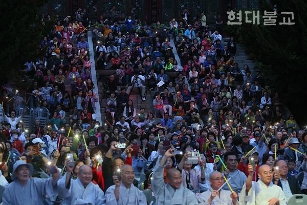 사회복지법인 혜원은 6월 8일 혜원정사 내 특설무대에서 혜원문화축제를 개최했다.