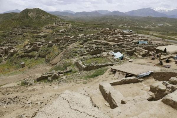 아프간 중부의 메스 아이낙 유적지 전경, 사진출처=산케이신문