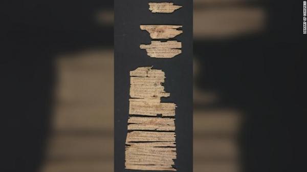 미국 의회도서관이 7월 29일 공개한 희귀 불교 문헌 일부. 이 문헌들은 약 2000년 전에 쓰인 것으로 추정된다.