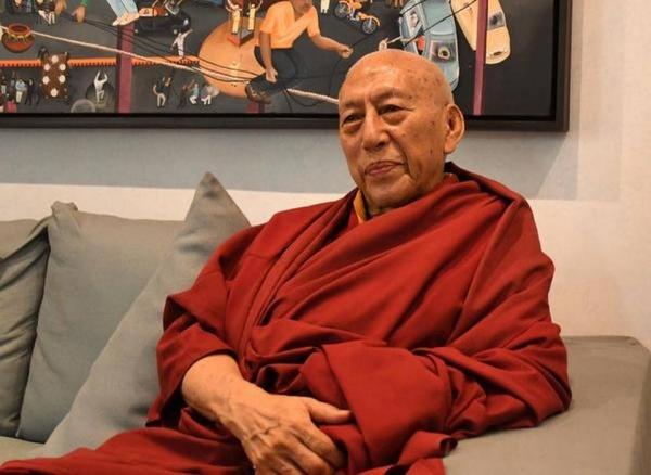 티베트 망명정부 국무총리를 역임한 고승 삼동 린포체. 사진출처=더힌두