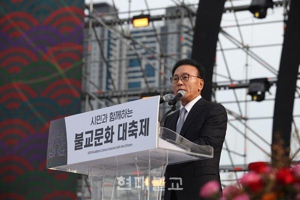 박수관 부산불교총연합신도회 회장