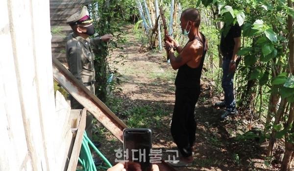 태국에서 스님이 살해당한 충격적인 사건이 발생했다. 사진출처 CTN.